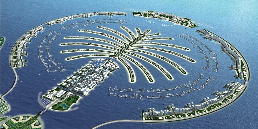Palm Islands Dubai UAE
